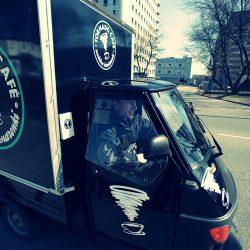 mobilny bar kawowy